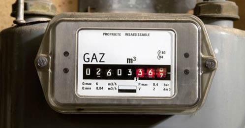 Compteur de gaz
