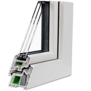 Fenêtre en triple vitrage
