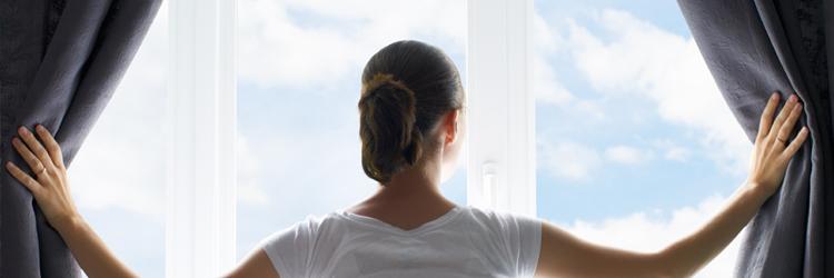 poser une tringle à rideau sur une fenêtre PVC sans percer