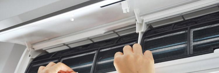 photo nettoyer un climatiseur split
