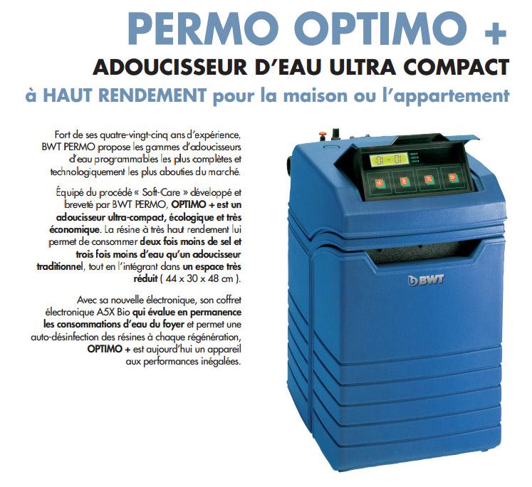 Permo Optimo - Adoucisseur d'eau