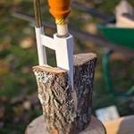 Fendeur de bûches ou fendeuse à bois