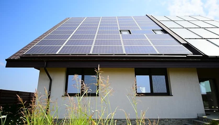 Installation photovoltaïque maison